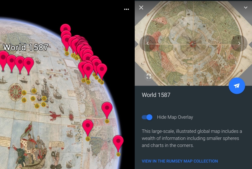 Where in the World Can You Find Over 100 Historical Maps? Google Earth, Of Course.